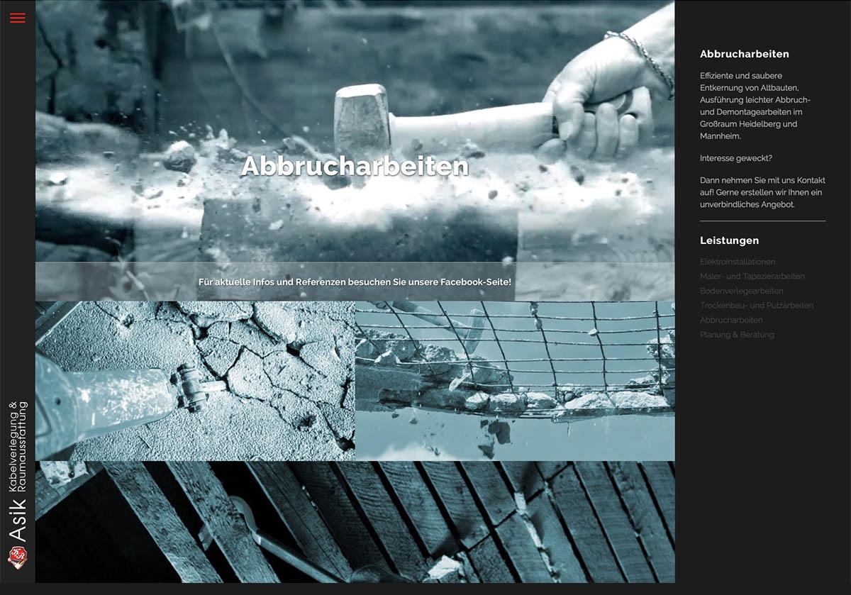 Raumausstatter Mannheim umlautmedia grafikdesign webdesign werbekonzepte weinheim
